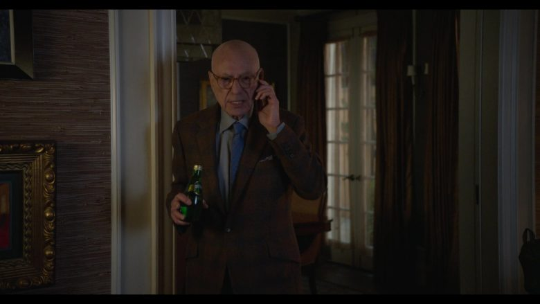 Perrier Water Enjoyed by Alan Arkin as Norman Newlander in The Kominsky Method Season 2 Episode 1