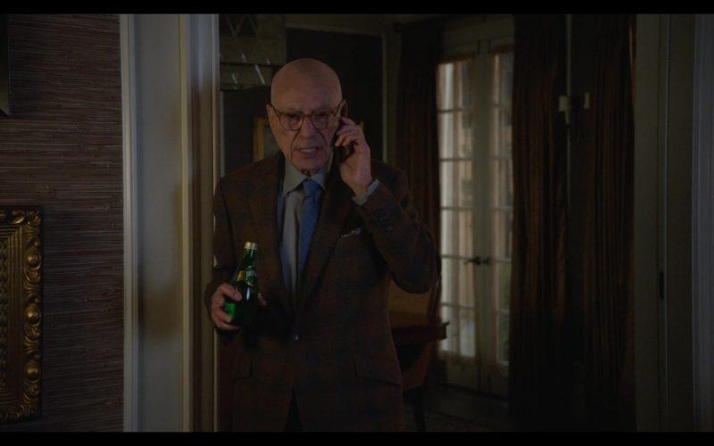 Perrier Water Enjoyed by Alan Arkin as Norman Newlander in The Kominsky Method Season 2 Episode 1