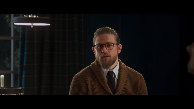 Persol PO3205V Eyeglasses Worn by Charlie Hunnam in The Gentlemen (2020) Movie