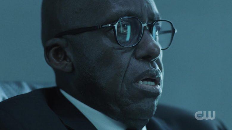 Persol Men's Eyeglasses in Black Lightning Season 3 Episode 3 (1)