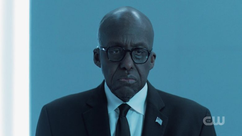 """Persol Men's Eyeglasses in Black Lightning Season 3 Episode 3 """"The Book of Occupation: Chapter Three"""" (2019) - TV Show Product Placement"""