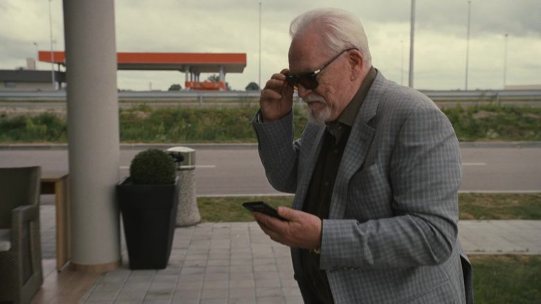 Persol Sunglasses Worn by Brian Cox as Logan Roy in Succession (1)