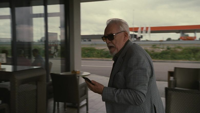 Persol Sunglasses Worn by Brian Cox as Logan Roy in Succession (2)