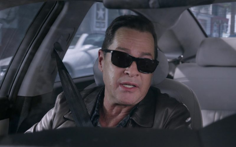 Persol Sunglasses Worn by French Stewart as Chef Rud in Mom Season 7 Episode 4 (4)