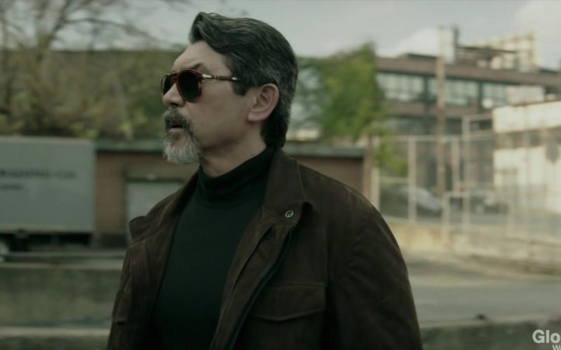Persol Sunglasses Worn by Lou Diamond Phillips as Gil Arroyo in Prodigal Son