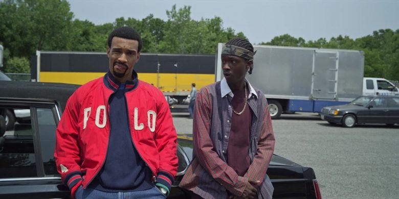 Polo Ralph Lauren Red Bomber Jacket in Wu-Tang An American Saga (2)