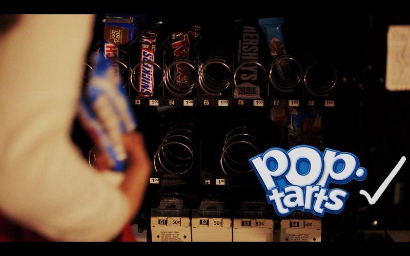 Pop Tarts, Snickers, Twix, Hershey's in Daybreak Season 1 Episode 6