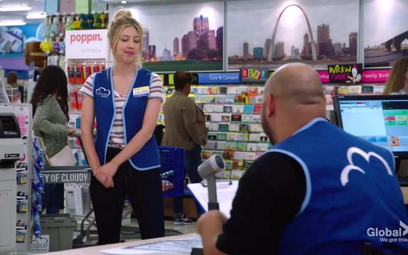 Poppin in Superstore Season 5 Episode 3 Forced Hire (1)