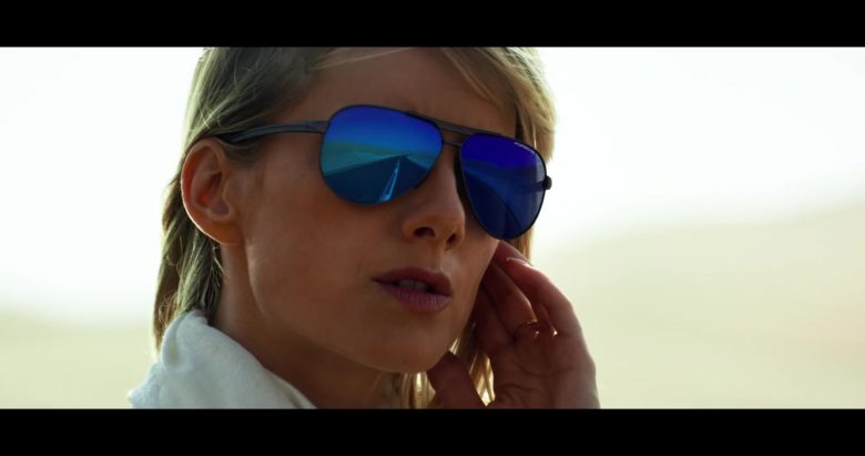 Porsche Design Sunglasses Worn by Mélanie Laurent in 6 Underground (1)