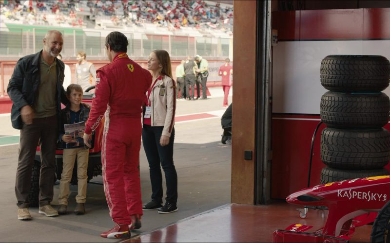 Puma Ferrari Shoes Worn by Milo Ventimiglia as Denny Swift in The Art of Racing in the Rain