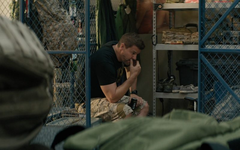 RUNA Energy Drink Enjoyed by David Boreanaz as Jason Hayes in SEAL Team Season 3 Episode 5