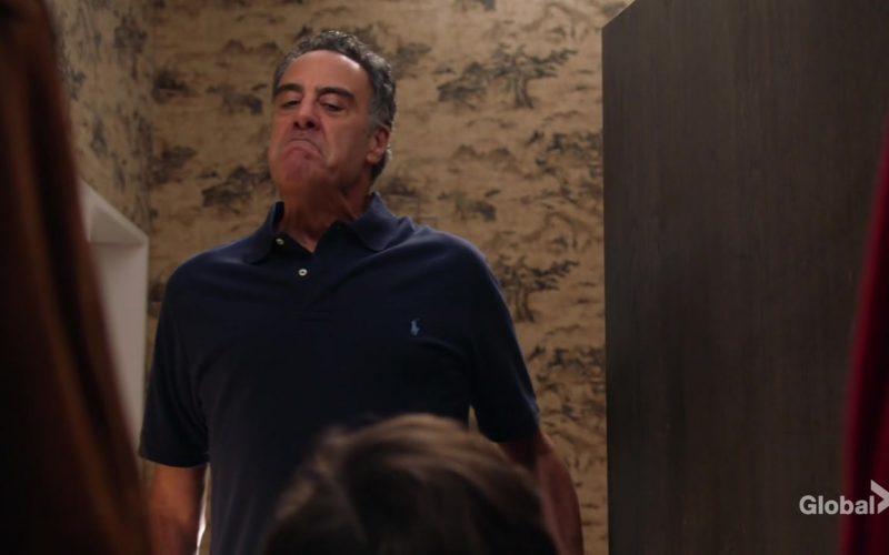 Ralph Lauren Blue Polo Shirt Worn by Brad Garrett as Douglas Fogerty in Single Parents Season 2 Episode 5