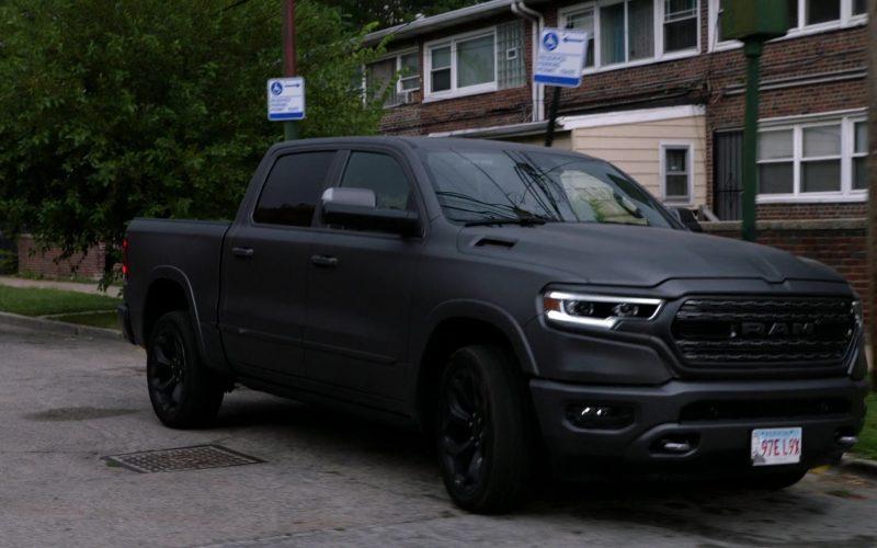 Ram Truck Black Matted Car in Chicago P.D. Season 7 Episode 6 False Positive (2019)