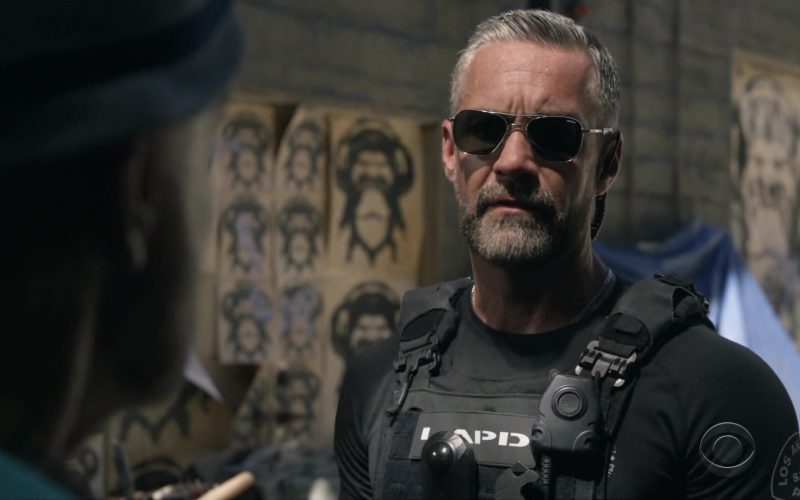 Randolph Sunglasses Worn by Jay Harrington as Sergeant II David Kay or Deacon in S.W.A.T (1)
