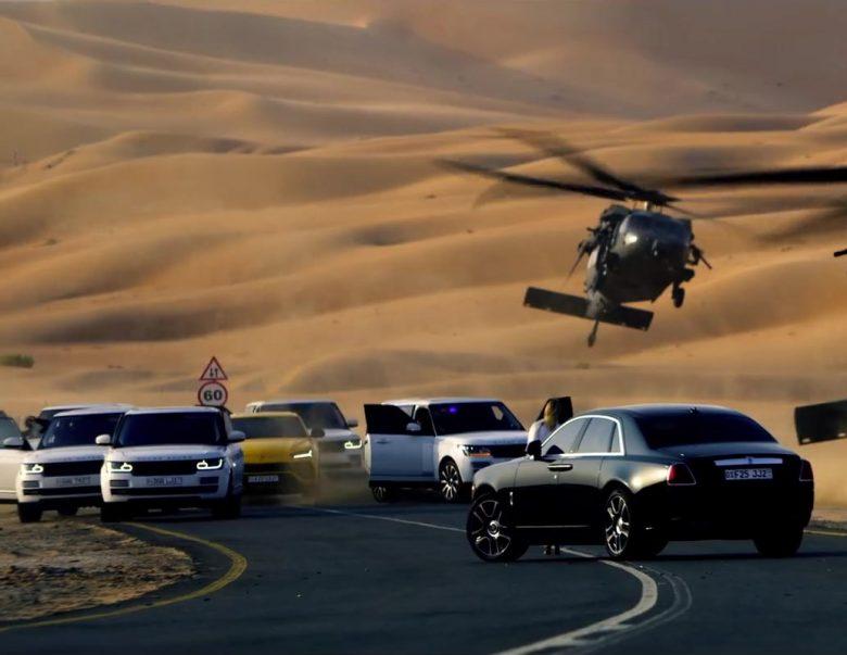 Range Rover, Lamborghini Urus & Rolls-Royce Cars in 6 Underground (2019) - Movie Product Placement