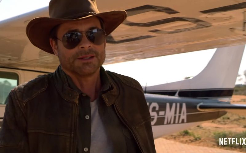 Ray-Ban Aviator Sunglasses Worn by Rob Lowe in Holiday In The Wild (1)