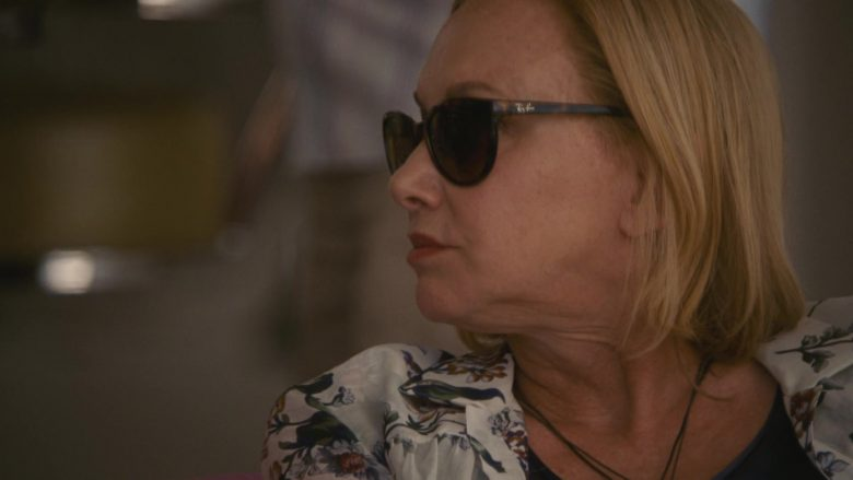 """Ray-Ban Women's Sunglasses in Succession Season 2 Episode 10 """"This Is Not for Tears"""" (2019) - TV Show Product Placement"""