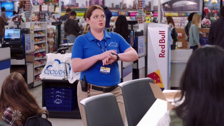 Red Bull Energy Drinks in Superstore Season 5 Episode 4 Mall Closing (2019)