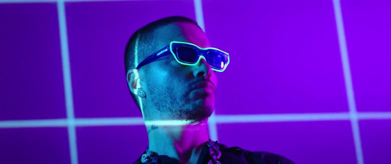 Rokit Blue Sunglasses Worn by J Balvin in RITMO by The Black Eyed Peas (Bad Boys For Life Soundtrack, 2019) - Official Music Video Product Placement