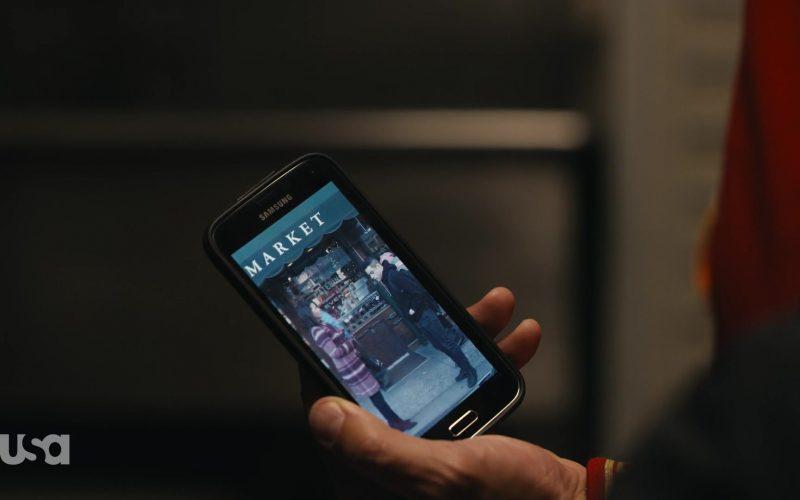 Samsung Galaxy Mobile Phone in Mr. Robot Season 4 Episode 3 403 Forbidden