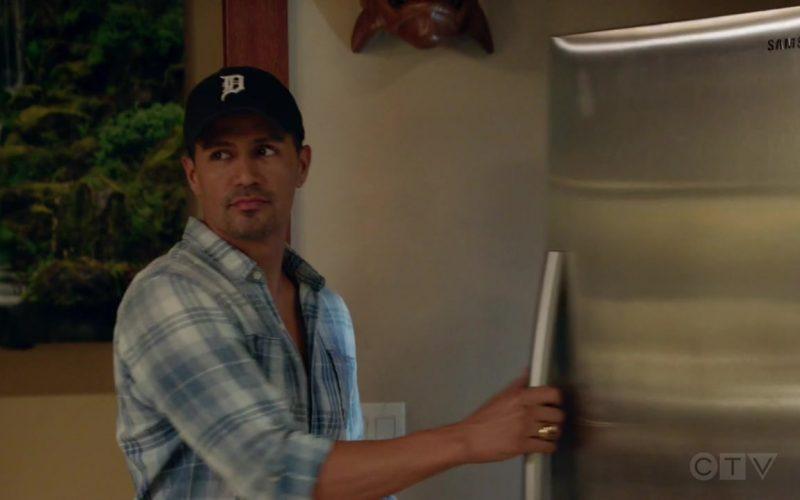 Samsung Refrigerator Used by Jay Hernandez as Thomas Magnum in Magnum P.I. Season 2 Episode 3