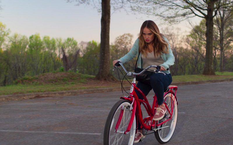 Schwinn Red Bicycle Used by Debby Ryan as Paty in Insatiable (3)