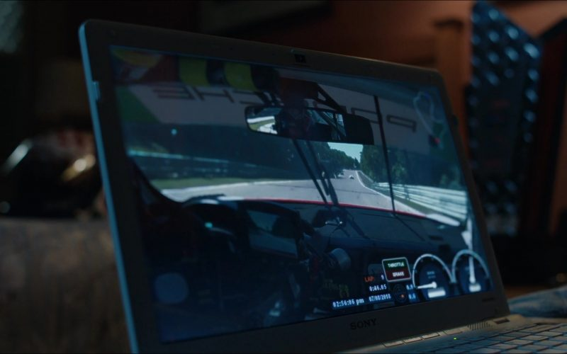 Sony Laptop in The Art of Racing in the Rain (2019)