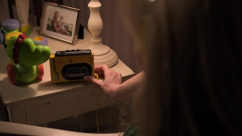 """Sony Walkman Portable Cassette Player Used by Kirsten Dunst as Krystal Stubbs in On Becoming a God in Central Florida - Season 1 Episode 8 """"Birthday Party"""" (2019) - TV Show Product Placement"""