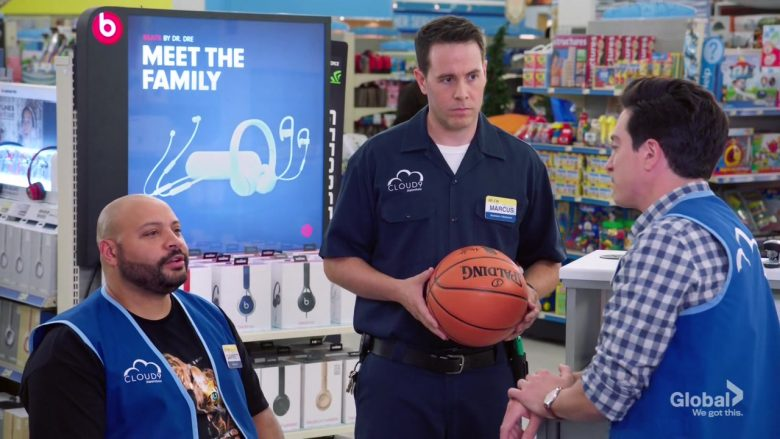 "Spalding Basketball and Beats in Superstore Season 5 Episode 3 ""Forced Hire"" (2019) - TV Show Product Placement"