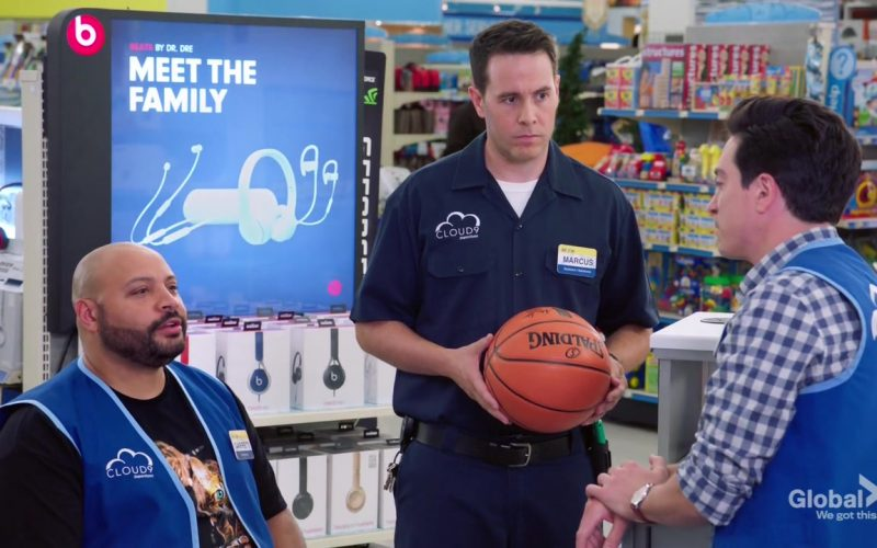 Spalding Basketball and Beats in Superstore Season 5 Episode 3