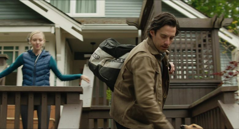 Sparco Bag Used by Milo Ventimiglia as Denny Swift in The Art of Racing in the Rain (2019) - Movie Product Placement