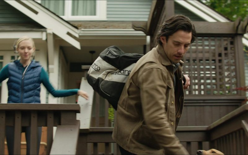 Sparco Bag Used by Milo Ventimiglia as Denny Swift in The Art of Racing in the Rain