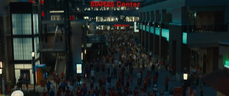 Staples Center in Stuber (2019) - Movie Product Placement