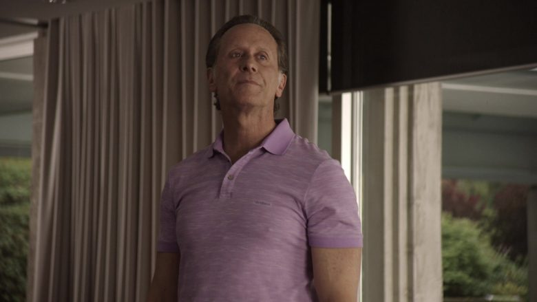 """Strellson Polo Shirt Worn by Steven Weber as Lawrence Budd in Get Shorty Season 3 Episode 4 """"What Else Did God Say"""" (2019) - TV Show Product Placement"""