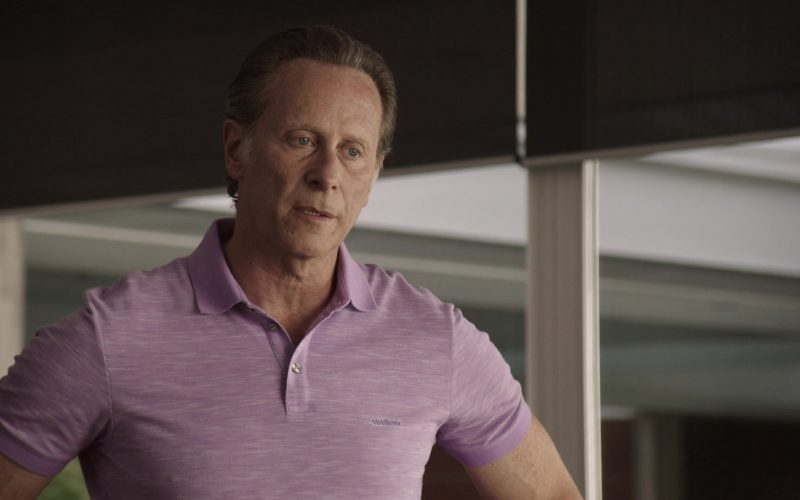 Strellson Polo Shirt Worn by Steven Weber as Lawrence Budd in Get Shorty Season 3 Episode 4 (4)