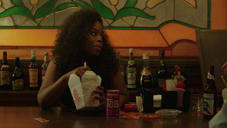"Tab Soda and Pabst Beer in The Deuce Season 3 Episode 7 ""That's a Wrap"" (2)"