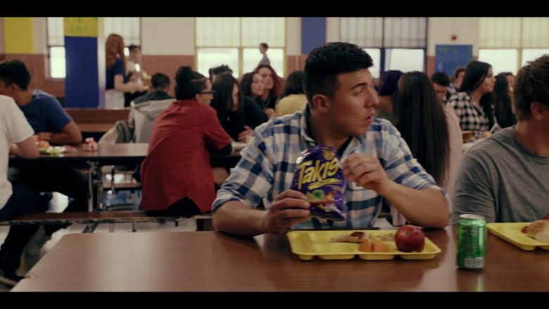 "Takis Rolled Corn Tortilla Chips in Daybreak Season 1 Episode 4 ""MMMMMMM-HMMMMMM"" (2019) - TV Show Product Placement"