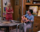 Taylor Guitar Used by Max Greenfield as Dave Johnson in The Neighborhood Season 2 Episode 5 (3)