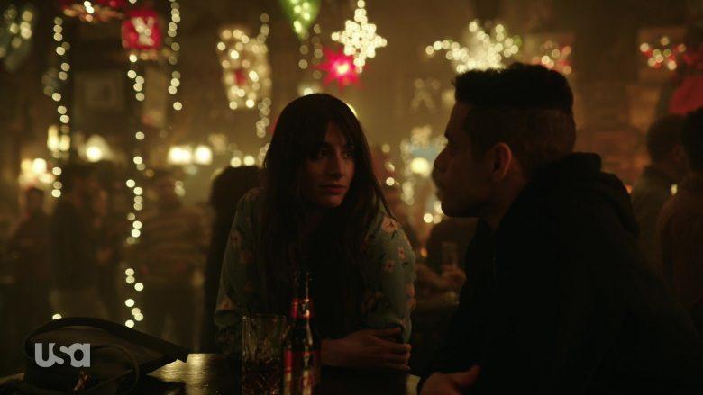 Tecate Beer Enjoyed by Rami Malek as Elliot Alderson in Mr. Robot Season 4 Episode 3 (2)
