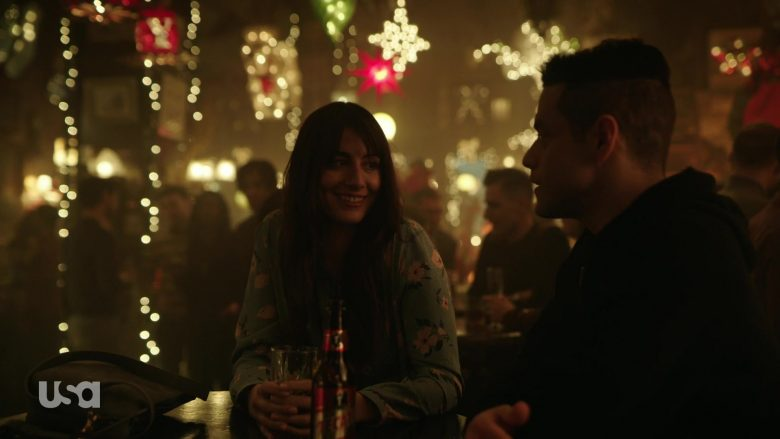 """Tecate Beer Enjoyed by Rami Malek as Elliot Alderson in Mr. Robot Season 4 Episode 3 """"403 Forbidden"""" (2019) - TV Show Product Placement"""