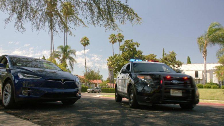 Tesla Blue Car in The Rookie Season 2 Episode 3