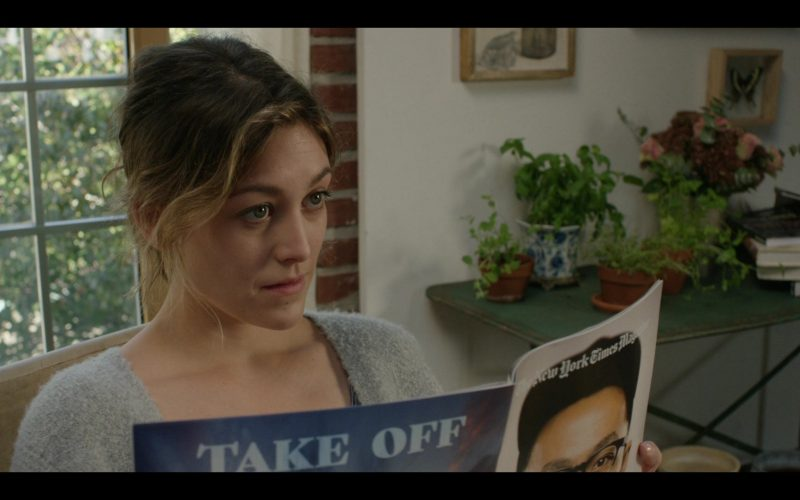 The New York Times Magazine Held by Caitlin McGee as Emma in Modern Love Season 1 Episode 2 (3)
