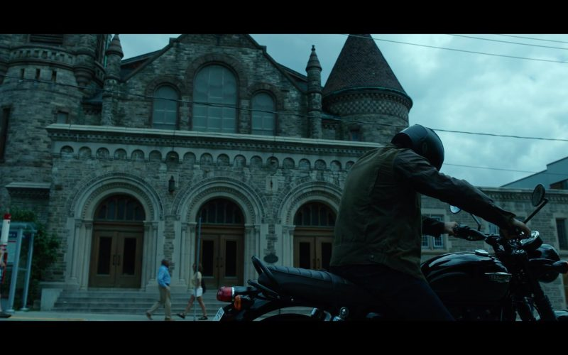 Triumph Motorcycle Used by Brenton Thwaites as Richard 'Dick' Grayson Robin Nightwing