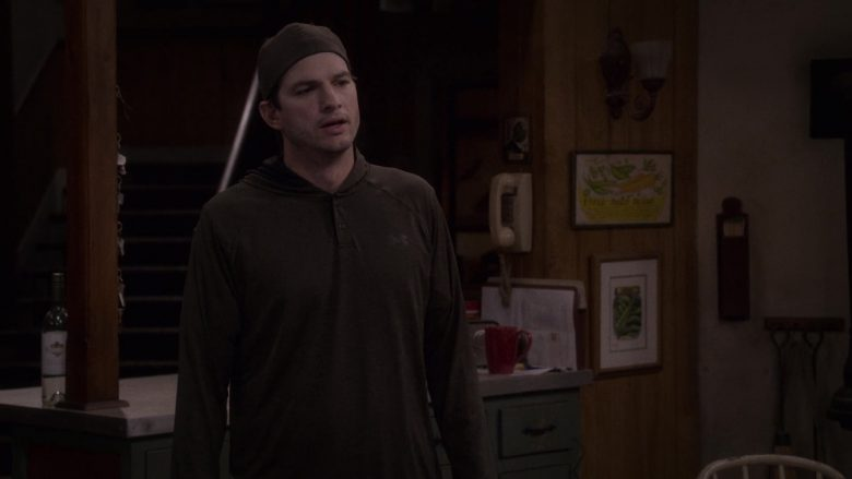"Under Armour Hoodie Worn by Ashton Kutcher as Colt Reagan Bennett in The Ranch Season 4 Episode 4 ""Remind Me"" (2019) - TV Show Product Placement"