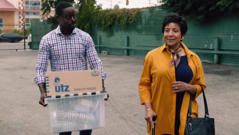 "Utz Quality Foods in This Is Us Season 4 Episode 4 ""Flip a Coin"" (2019) - TV Show Product Placement"