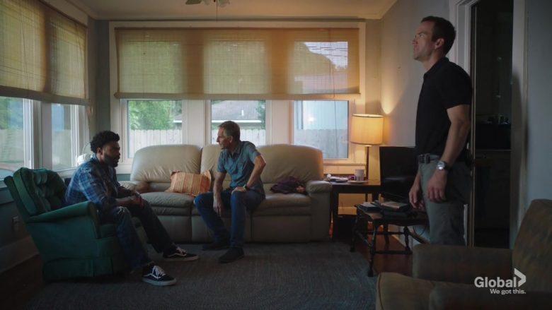 """Vans Men's Black Shoes in NCIS: New Orleans Season 6 Episode 5 """"Spies & Lies"""" (2019) - TV Show Product Placement"""