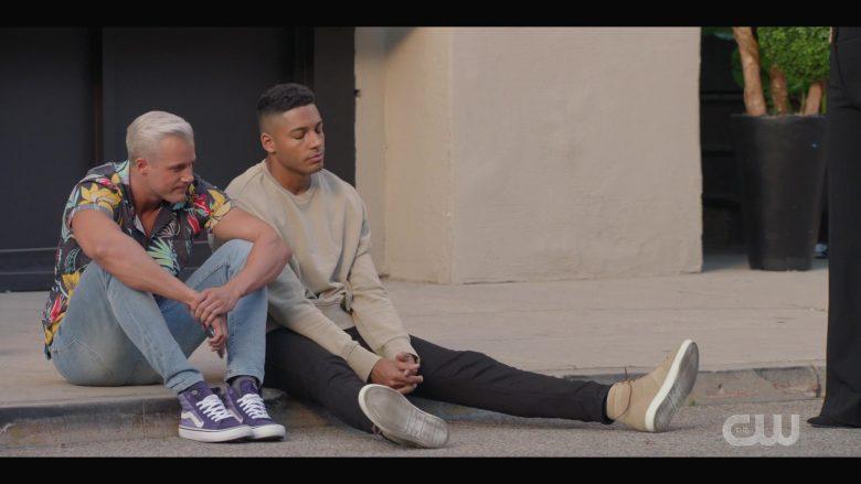 Vans Purple Sneakers in All American Season 2 Episode 2