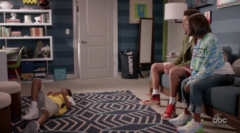 """Vans Shoes Worn by Marcus Scribner & Nike Sneakers Worn by Marsai Martin in Black-ish Season 6 Episode 4 """"When I Grow Up (to Be a Man)"""" (2019) - TV Show Product Placement"""