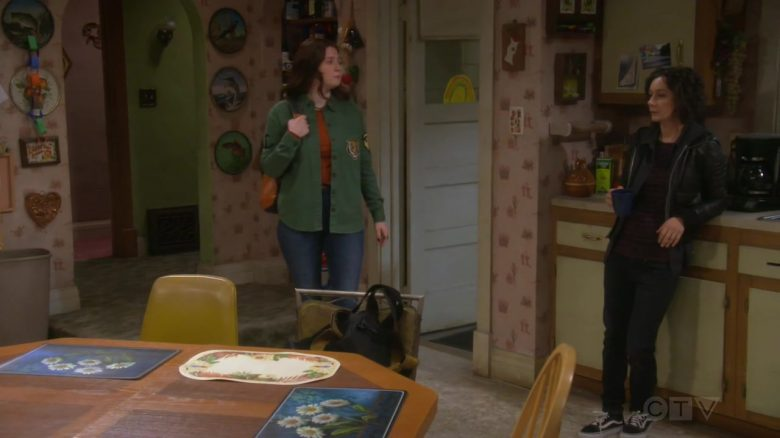 """Vans Shoes Worn by Sara Gilbert as Darlene Conner-Healy in The Conners Season 2 Episode 3 """"The Preemie Monologues"""" (2019) - TV Show Product Placement"""