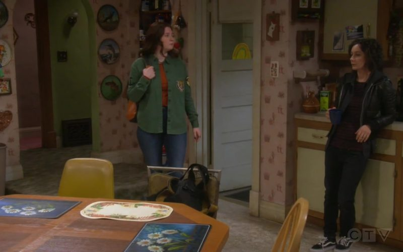 Vans Shoes Worn by Sara Gilbert as Darlene Conner-Healy in The Conners Season 2 Episode 3